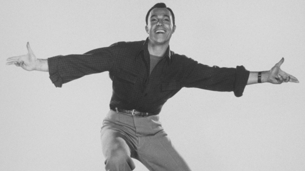 Blessed with athleticism and skill, actor-dancer Gene Kelly always managed to look like a regular guy having a lot of fun dancing. (Getty Images)