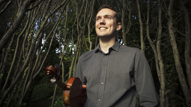 Classically trained violinist Ben Powell makes the leap to jazz in his album New Street, a tribute to the late Stephane Grappelli. (Courtesy of the artist)