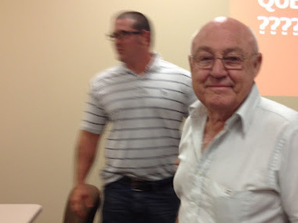 Grandpa Traub — corn former and millionaire.