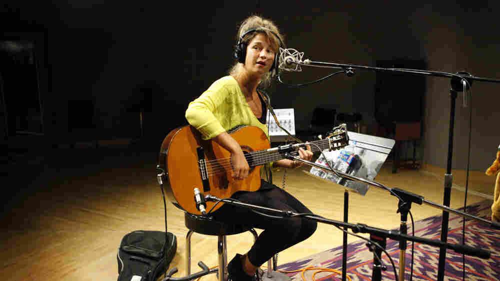Selah Sue performs at NPR headquarters in Washington, D.C.