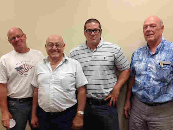 Three generations of the Traub family are farmers.