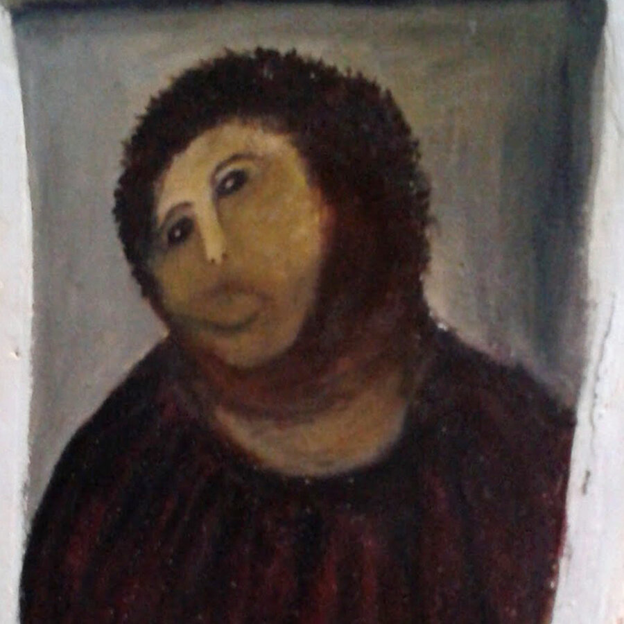 Image result for corrected jesus painting