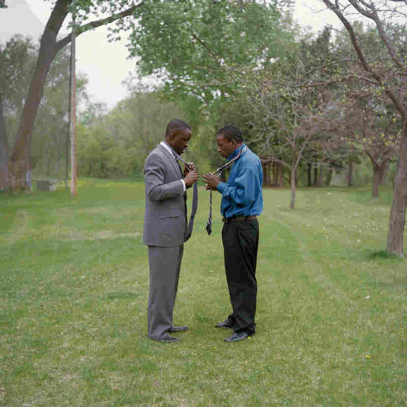 "Obed and Moe. From the series ""At Risk, With Promise."""