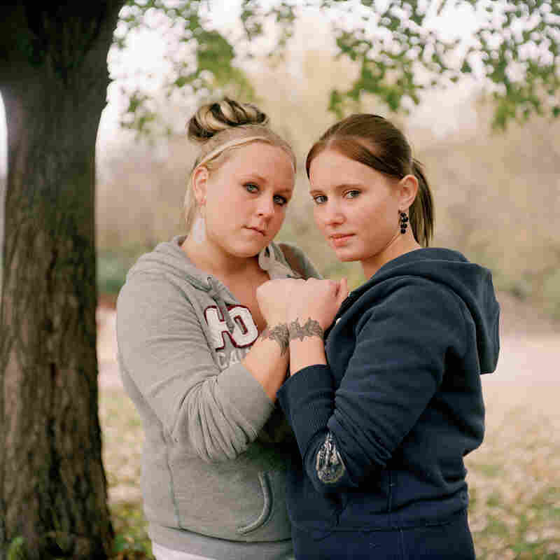 "Corrine and Tabby. From the series ""At Risk, With Promise."""