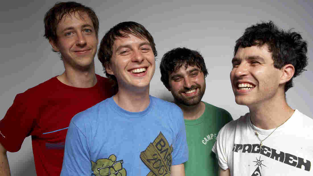 Animal Collective's new album, Centipede Hz, comes out Sept. 4.
