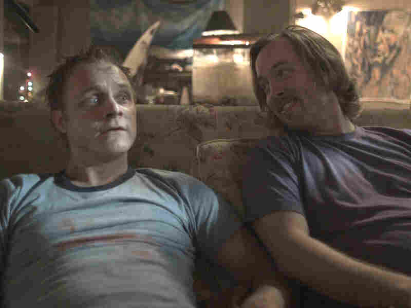 When Bart (Anders) returns from the dead, before discovering his appetite for flesh, he goes to stoner friend Joey (Chris Wylde).