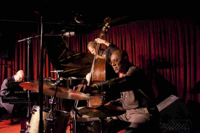 "The trio of Albert ""Tootie"" Heath (drums), Ben Street (bass) and Ethan Iverson (piano) perform at the Village Vanguard."