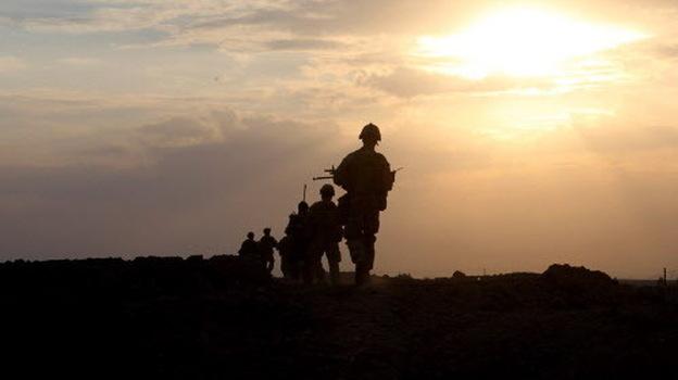 U.S. Marines with 1st Platoon, Company I, 3rd Battalion, 5th Marines (3/5), Regimental Combat Team 2, in Afghanistan. (January 2010 file photo.) (3rd Battalion 5th Marines-RCT 2)