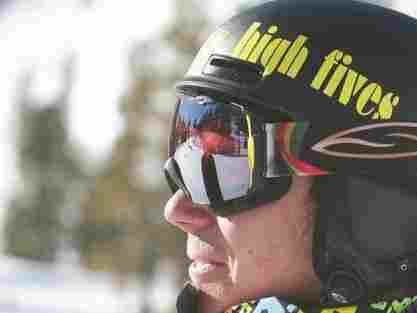 Roy Tuscany on the slopes.