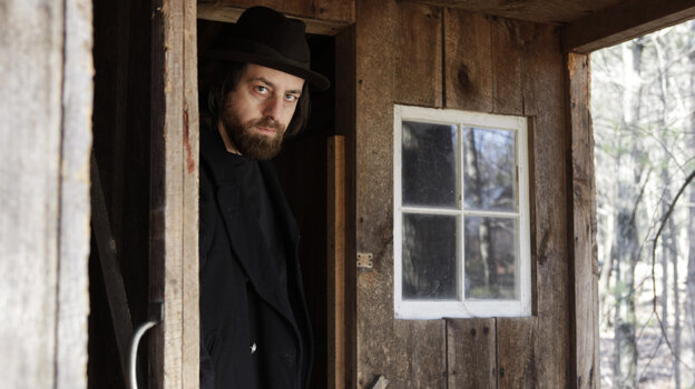 Sean Rowe's new album is The Salesman and the Shark.