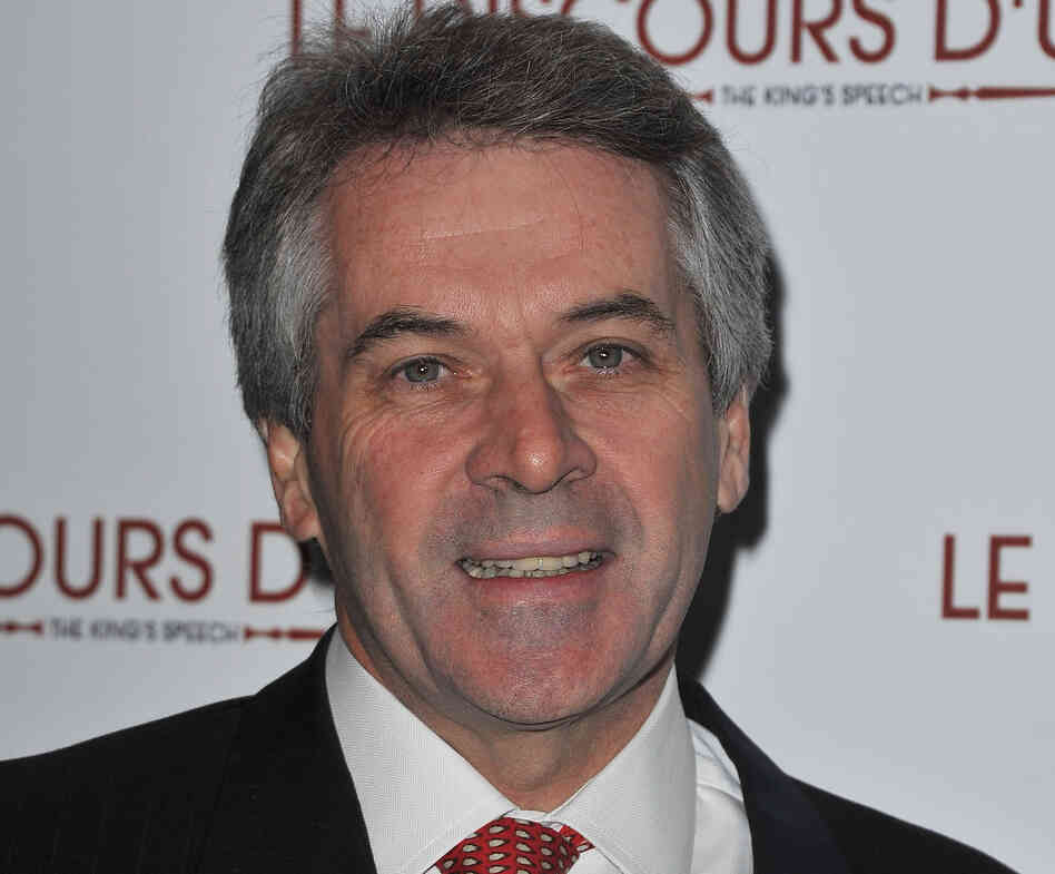 Sir Peter Westmacott, then-British ambassador to France, attends the Paris premiere of the film Le Discours d'un Roi at Cinema UGC Normandie on Jan. 4, 2011.