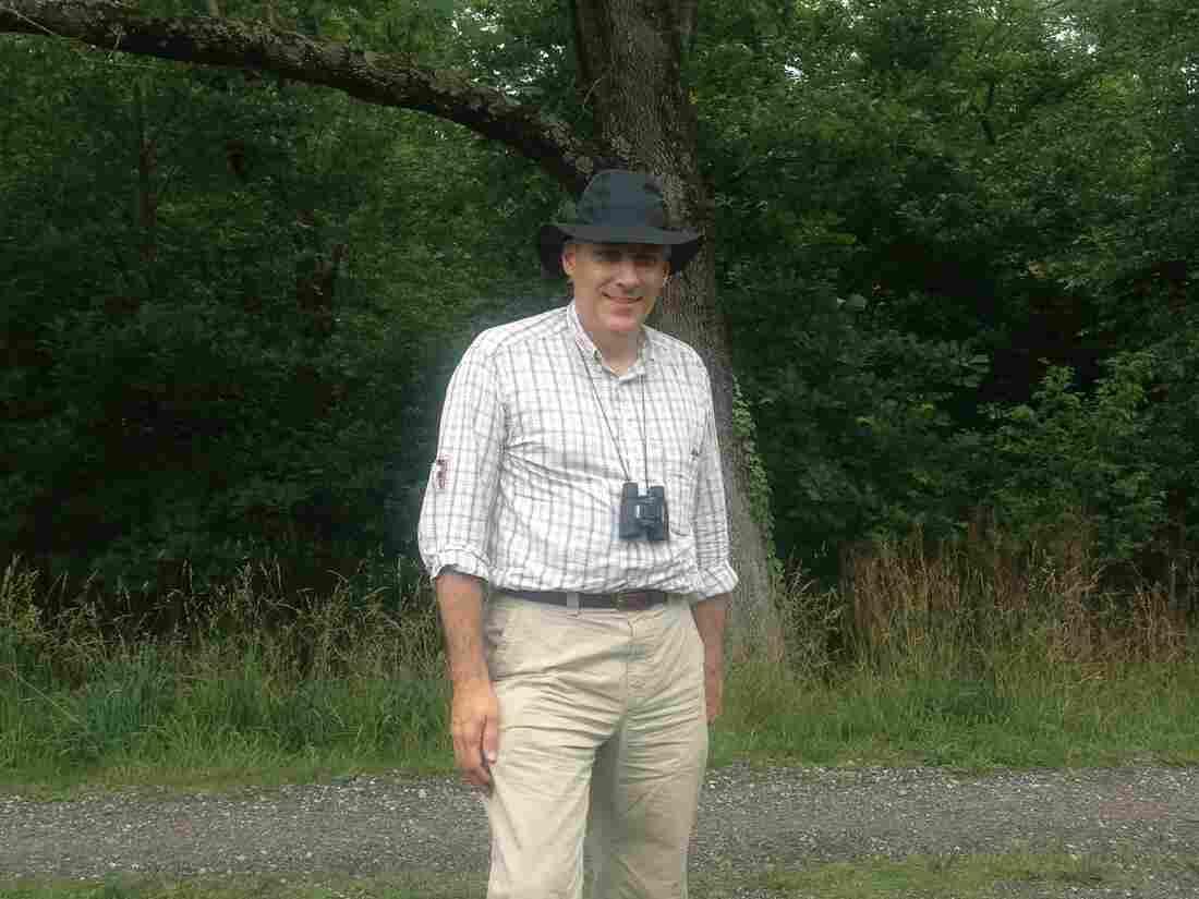 Former Harrisburg receiver, David Unkovic, in the wilderness.