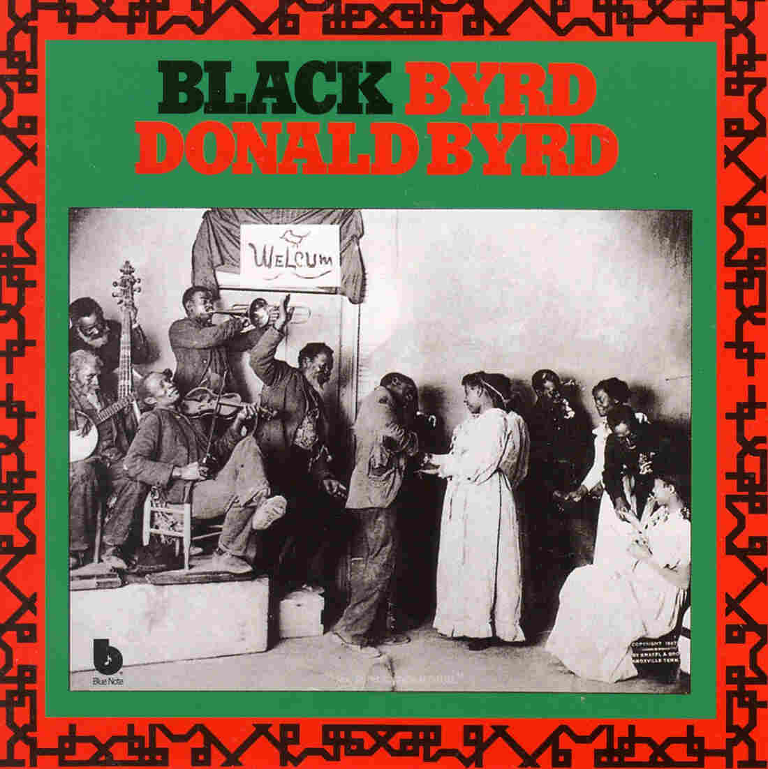 The cover to Donald Byrd's Black Byrd, one of the hit albums for Byrd in the '70s.