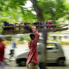 Dabba wallahs carry lunchboxes to offices in Indian cities. But the old tradition is changing with modern times.