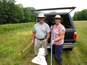 When they married, Matt and Paula Wilson weren't aware that they shared a passion for snakes.