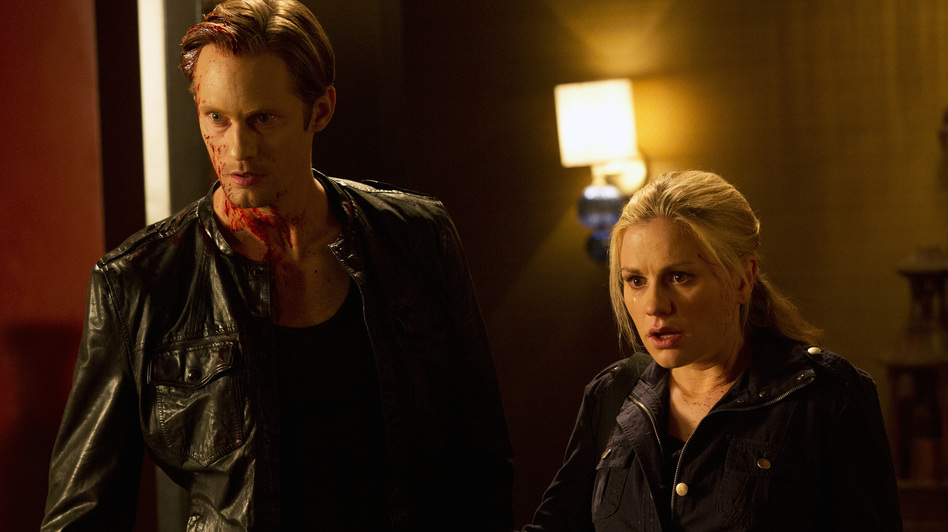 Eric Northman (Alexander Skarsgard) and Sookie Stackhouse (Anna Paquin). (HBO)