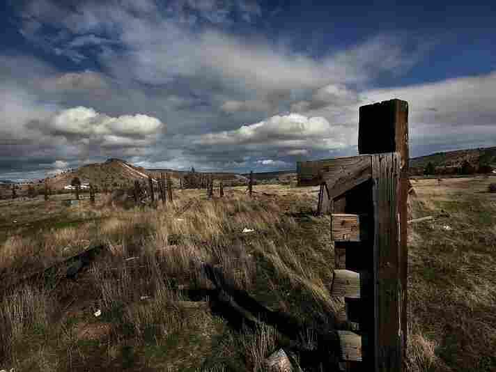 Near Warm Springs, Oregon