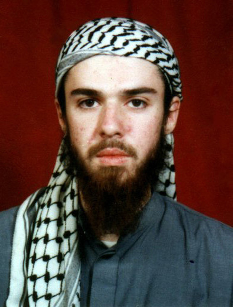 John Walker Lindh was captured in Afghanistan in 2002 after fighting with the Taliban.
