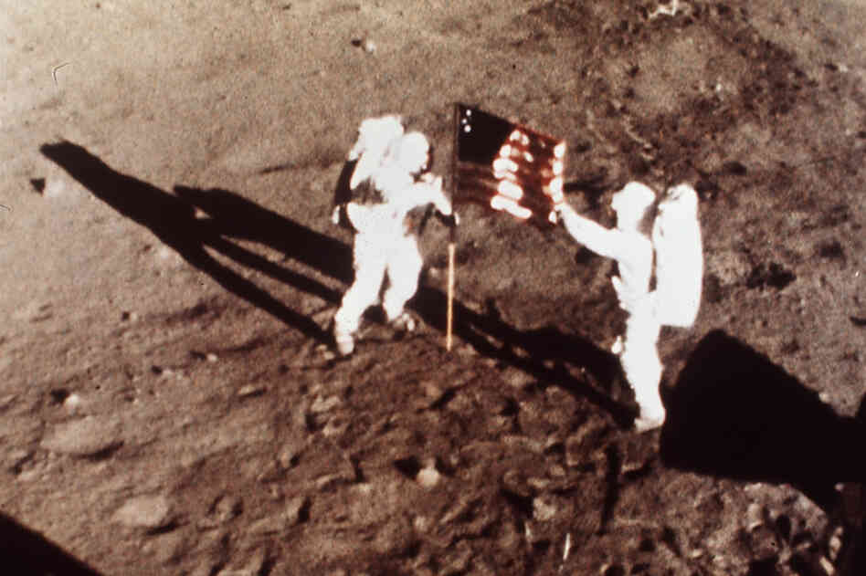 On July 20, 1969, Apollo 11 astronauts Armstrong and