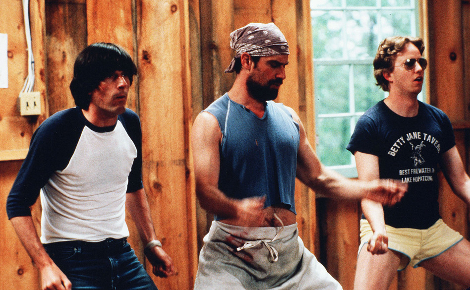 Michael Showalter, Christopher Meloni and A.D. Miles star in the 2001 comedy, <em>Wet Hot American Summer</em>.