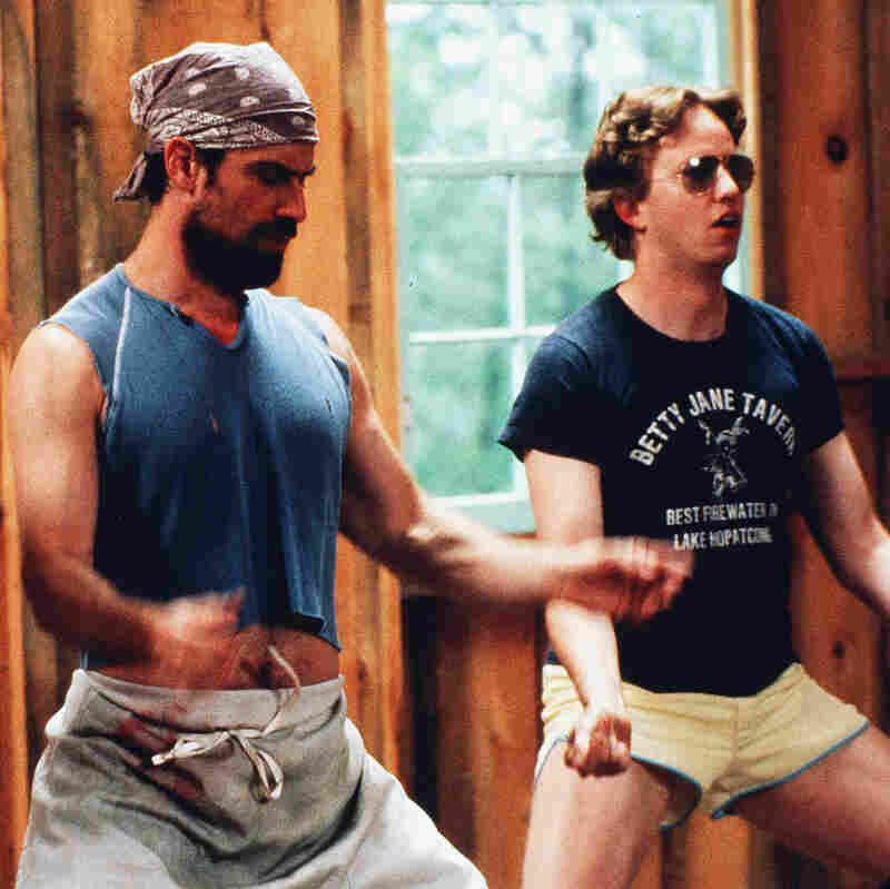 Michael Showalter, Christopher Meloni and A.D. Miles star in the 2001 comedy, Wet Hot American Summer.
