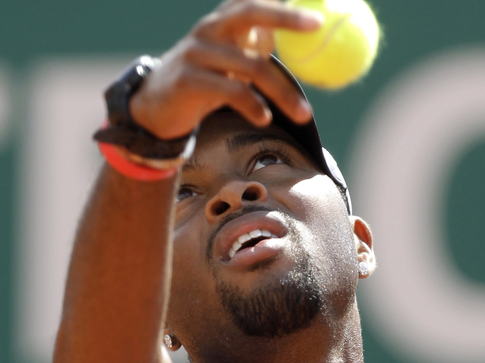 Donald Young is the only African-American man in the top 100 tennis players in the U.S. (AP)