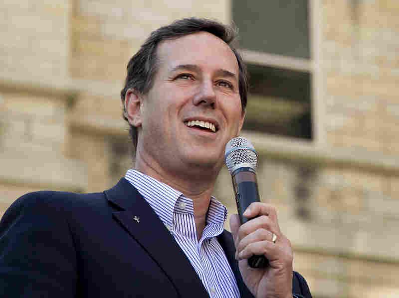 Former Pennsylvania Sen. Rick Santorum
