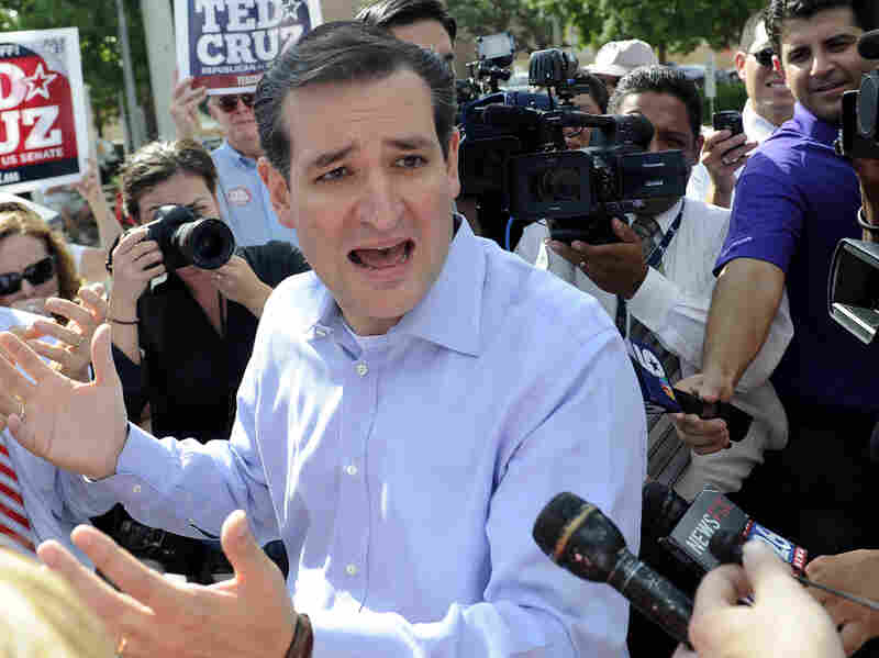 Texas Senate candidate Ted Cruz