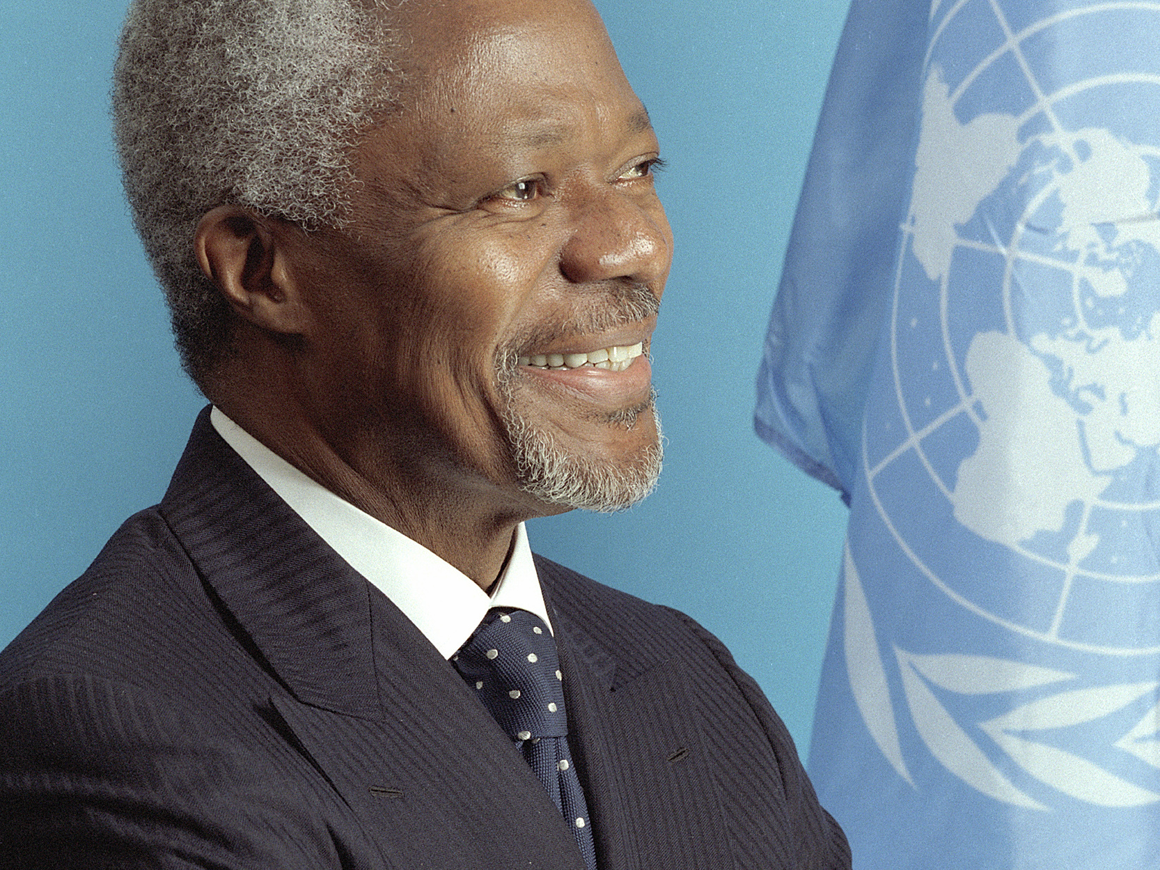 Kofi Annan On Syria, Hard Choices Of Peacekeeping : NPR