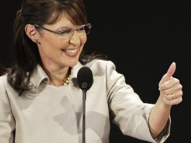 Sarah Palin's acceptance speech for vice president was the highlight of the 2008 Republican convention.
