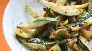 Garlicky Flash Zucchini