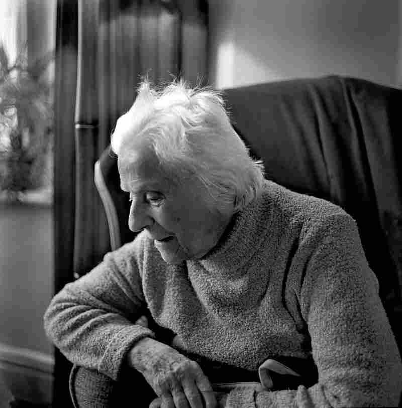 Katharina Fuchs at her house, London, February 2012