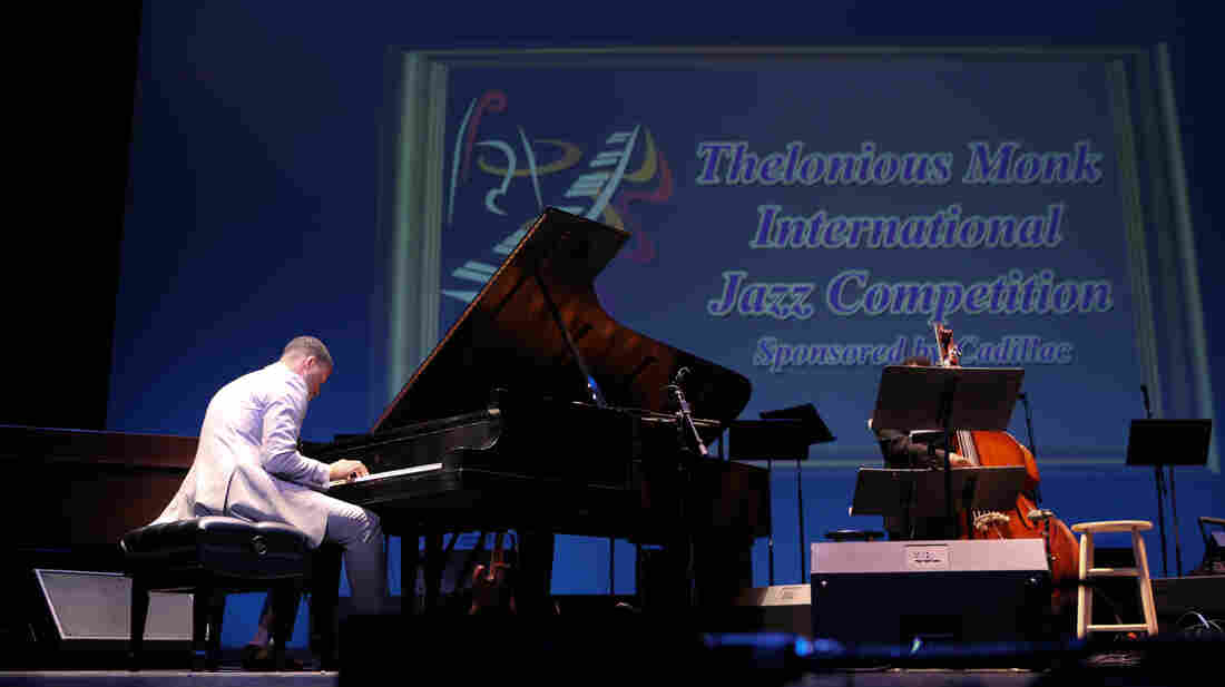 Pianist Kris Bowers performs in the 2011 Thelonious Monk International Jazz Competition. He was later named the winner.