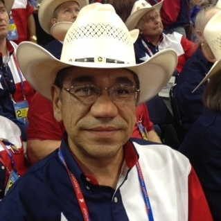 Isaac Castro, of the Texas delegation.
