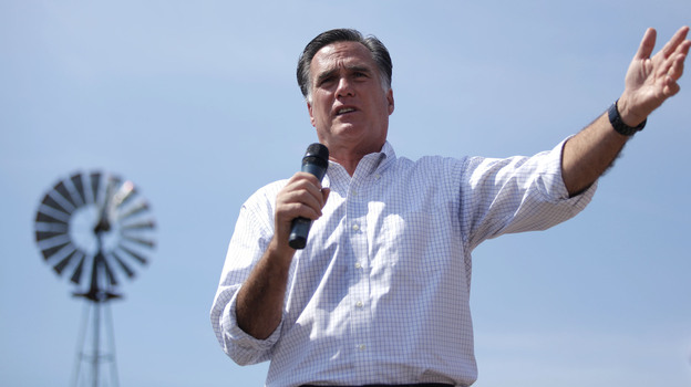 Mitt Romney rarely talks about his Mormon faith. (Getty Images)