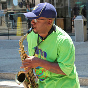 Scott Summers has been playing saxophone for close to 30 years, and performing outside for 10.