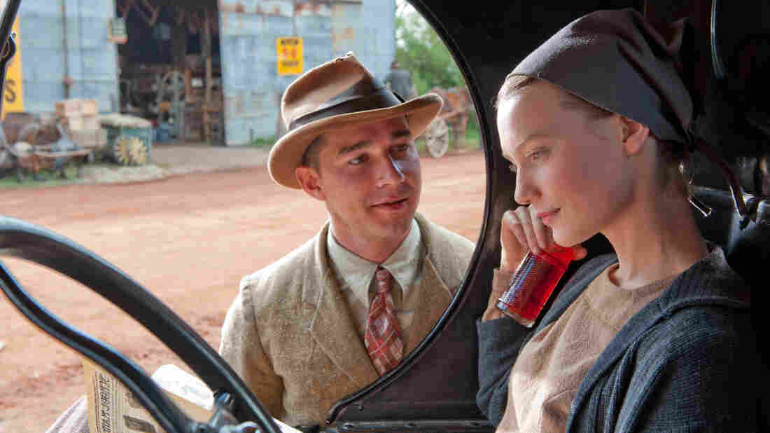 Jack Bondurant (Shia LeBeouf) finds escape from the brutality of his family's bootlegging business in the company of the radiant Bertha (Mia Wasikowska).