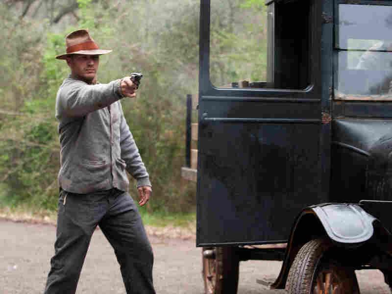 Forrest Bondurant (Tom Hardy) is the most level-headed member of the family criminal enterprise.