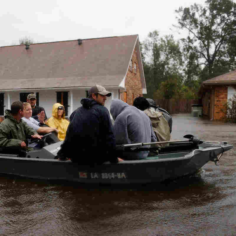 Floods, Power Outages In Isaac's Wake