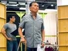 George Takei rehearses a scene from Allegiance, a new musical inspired by Takei's childhood in Japanese-American internment camps during World War II.