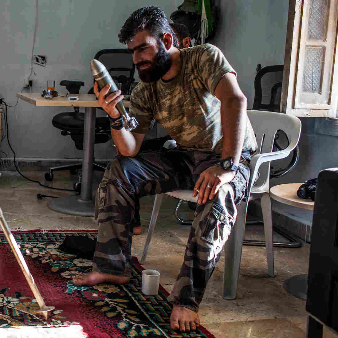 Syrian Rebels Make Do With Hodgepodge Of Weapons