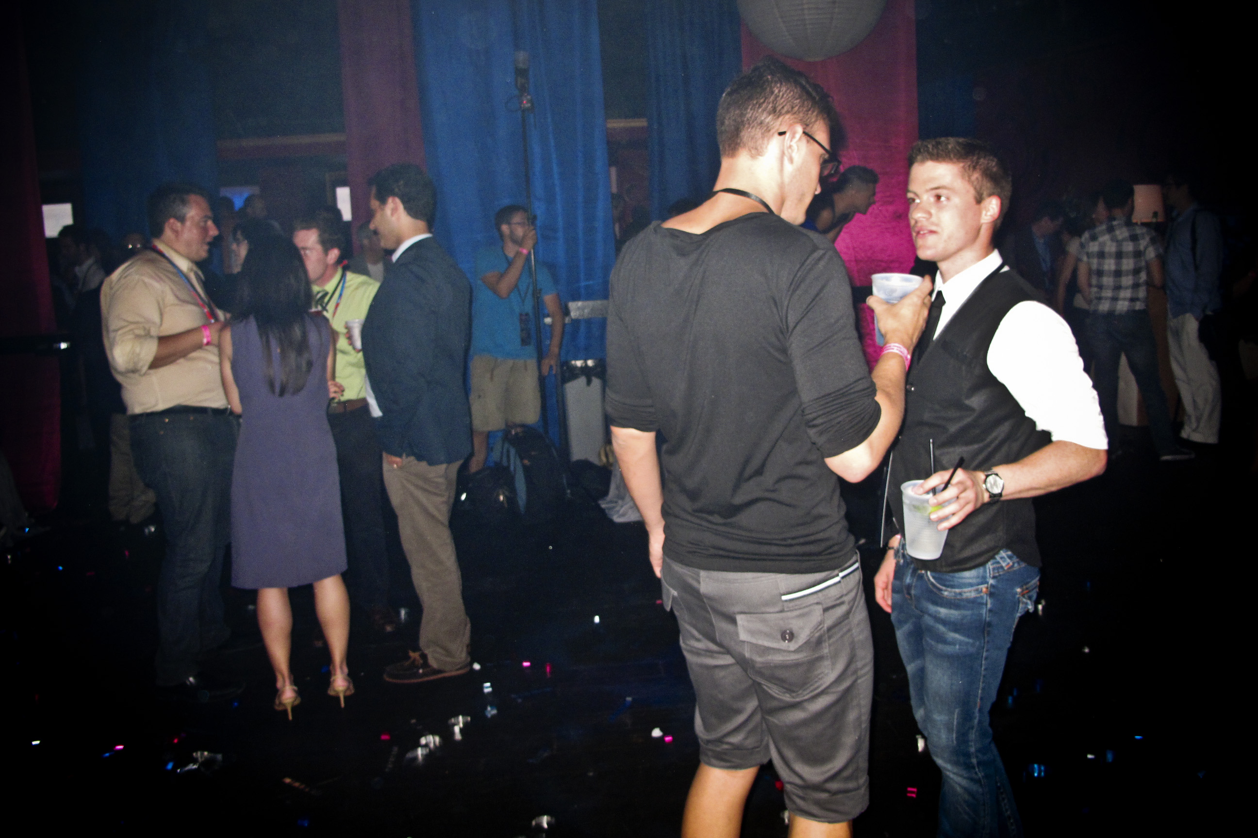 "At the Honey Pot nightclub, an event called the ""Homocon"" was organized by GOProud."