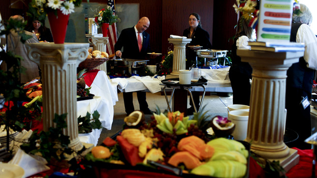 Log Cabin Republicans hosted a Young Conservatives for the Freedom to Marry brunch in Tampa on Wednesday. (NPR)
