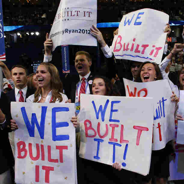 Young supporters attend the Republican National Convention in Tampa, Fla. At 42, Paul Ryan is the first member of Generation X to join a presidential ticket.