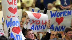 Delegates showed their love for Ann Romney at the Republican National Convention on Tuesday.