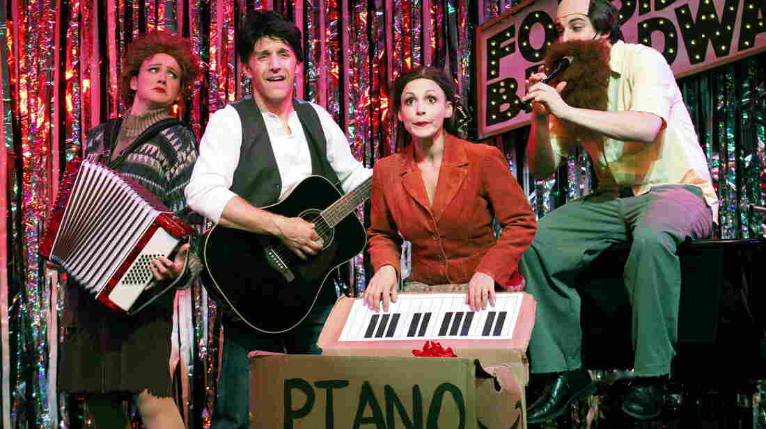 Natalie Charle Ellis, Scott Richard Foster, Jenny Lee Stern and Marcus Stevens are part of Gerard Alessandrini's Forbidden Broadway troupe, which is returning to the stage after a three-year hiatus.