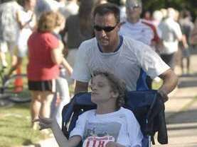 Running in an AiT event.