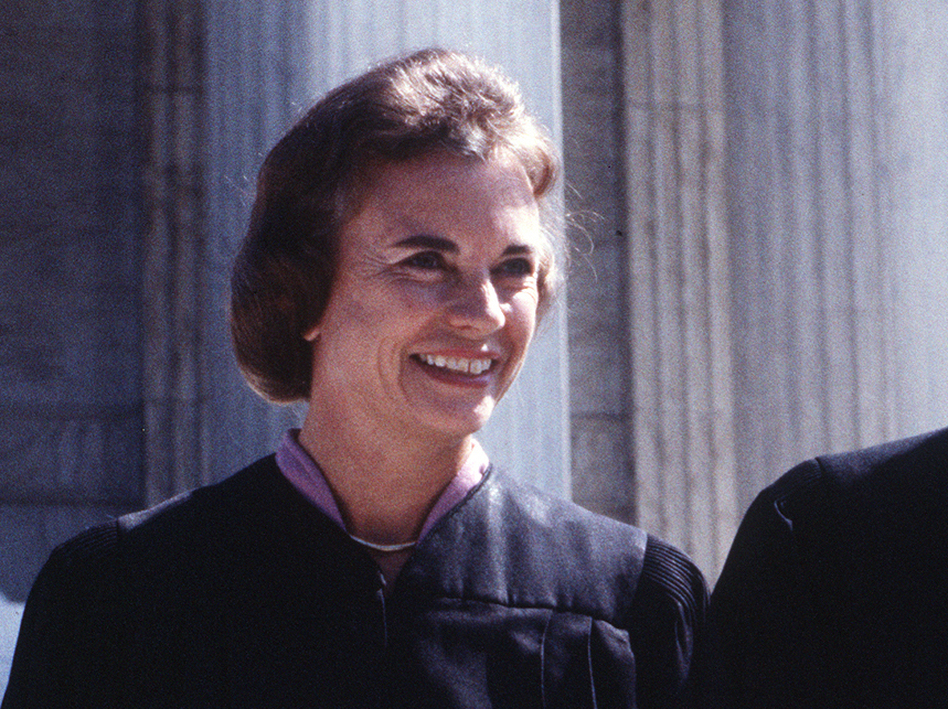 Supreme Court Justice Sandra Day O'Connor (AP)