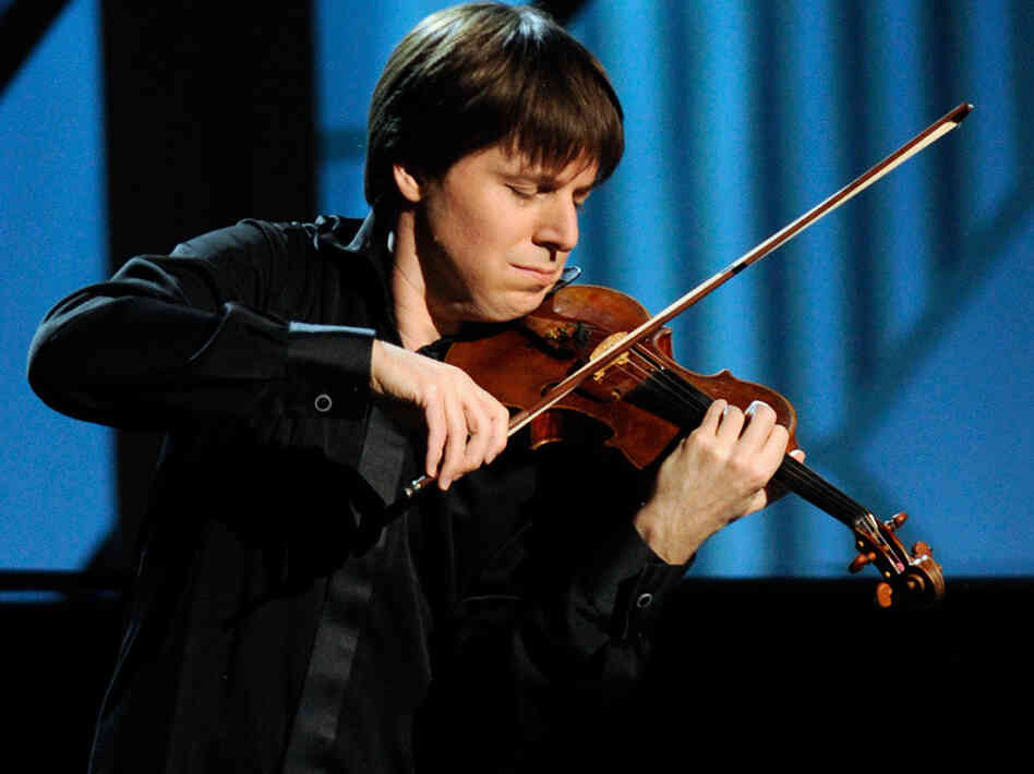 Classical violinist Joshua Bell is the conductor of the orchestra at the Academy of St. Martin in the Fields in London.