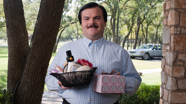 In Bernie, Jack Black plays a local mortician who murders his live-in c